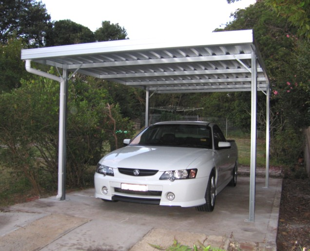 how to close in carport with cement sheet
